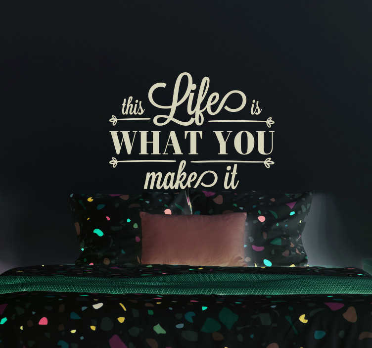 TenStickers. Sticker Maison Marilyn Monroe Citation. Marilyn Monroe : plus qu'un sex symbol, une véritable inspiration. Collez cette inspiration sur vos murs avec ce sticker mural citation !