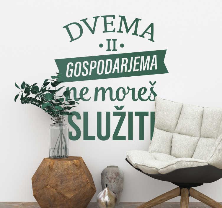 TenStickers. Slovenija besedilo nalepka dnevna soba zid dekor. Stenska nalepka za spanje. Stenska nalepka slovensko besedilo je narejena iz fleksibilne vinilne besedilne nalepke. Dnevne nalepke v vseh velikostih