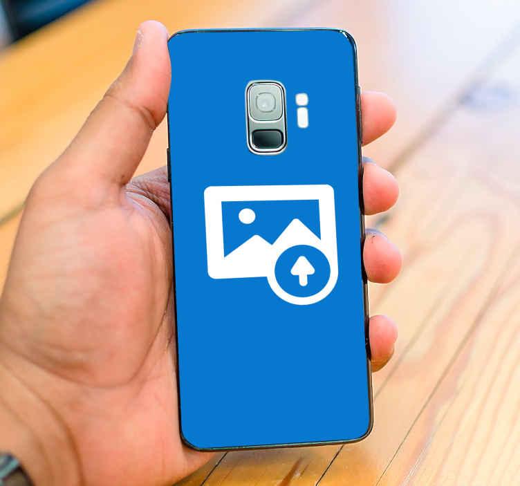 TenVinilo. Sticker para samsung personalizable. Pegatina personalizable para celulares y teléfonos Samsung que podrás individualizar con la fotografía que te plazca. Promociones Exclusivas vía e-mail