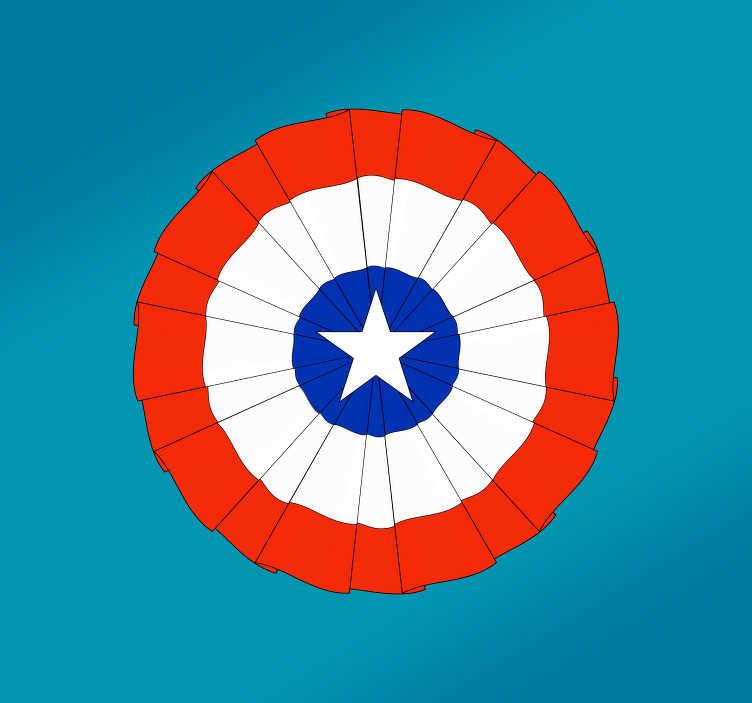 TenVinilo. Vinilo para vehículo Escarapela de Chile. Pegatina para decorar tu vehículo formada por el diseño de una escarapela con el dibujo de la bandera de Chile. Precios Imbatibles.