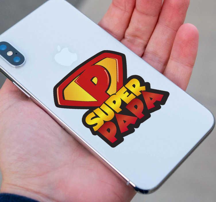 TenStickers. iPhone sticker Superman naam. Leuke superman logo mobiel sticker! Een ruime collectie iPhone mobiel decoratie! Super leuke superman text mobiel sticker en iPhone mobiel stickers!
