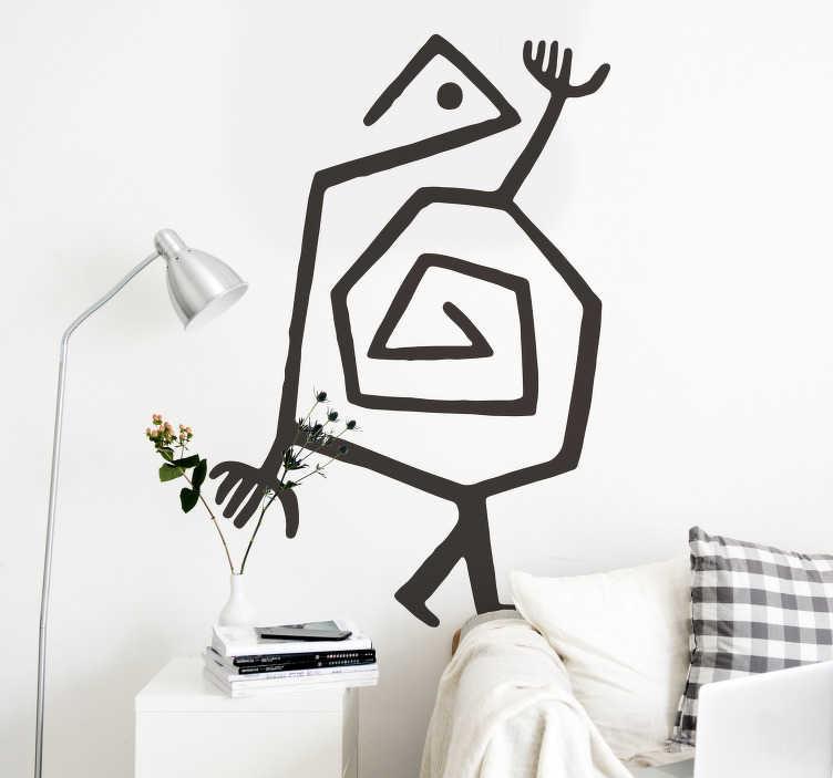 TenStickers. Origineller Aufkleber Paul Klee. Für jeden Paul Klee Fan haben wir das passende Wandtattoo! Schauen Sie jetzt in unserer online Kollektion nach weiteren Designs vorbei!