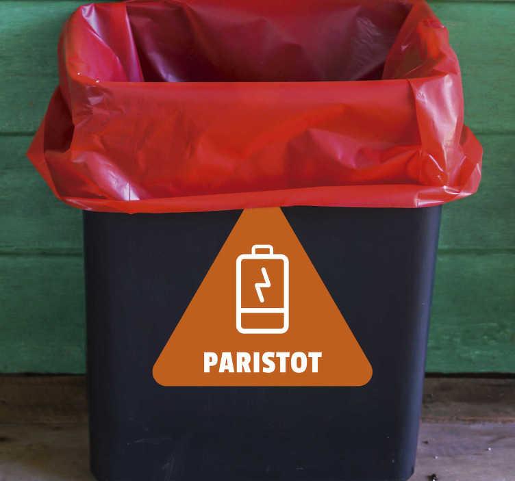 Tenstickers. Akun kierrätys vinyyli merkki. Kätevä akku kierrättää vinyyli merkki tarra. Tutustu uusiin kierrätystarroihin, akkujen roskakoriin ja muihin keräilytarroihin!