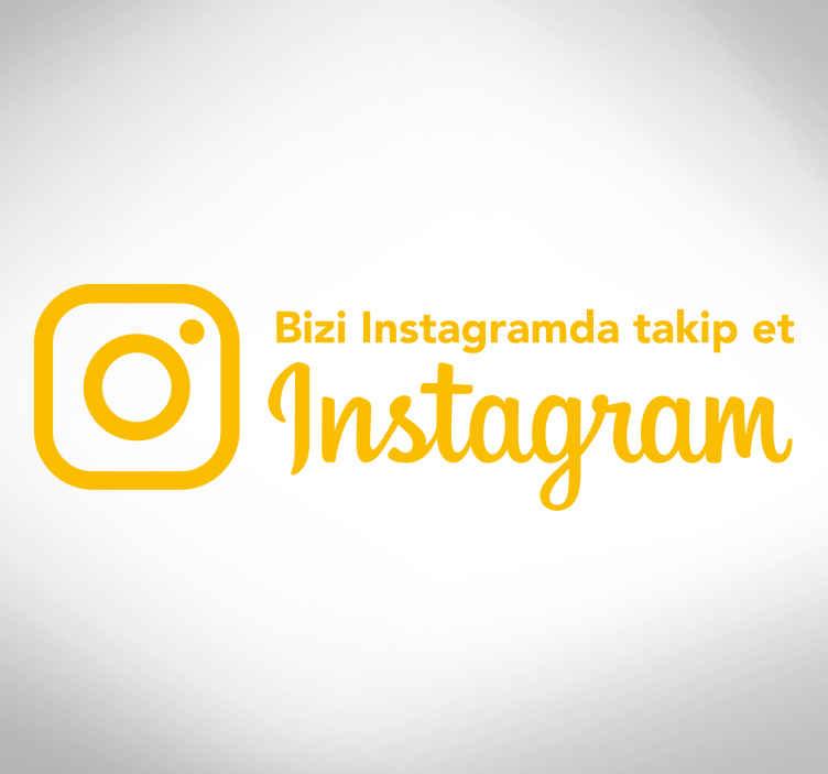 TenStickers. Instagram pencere etiketinde beni takip et. Sosyal ağlar günlük hayatımızın büyük bir bölümünü oluşturuyor. Dükkanını bu muhteşem pencere etiketi ile süsle! şimdi sipariş ver!