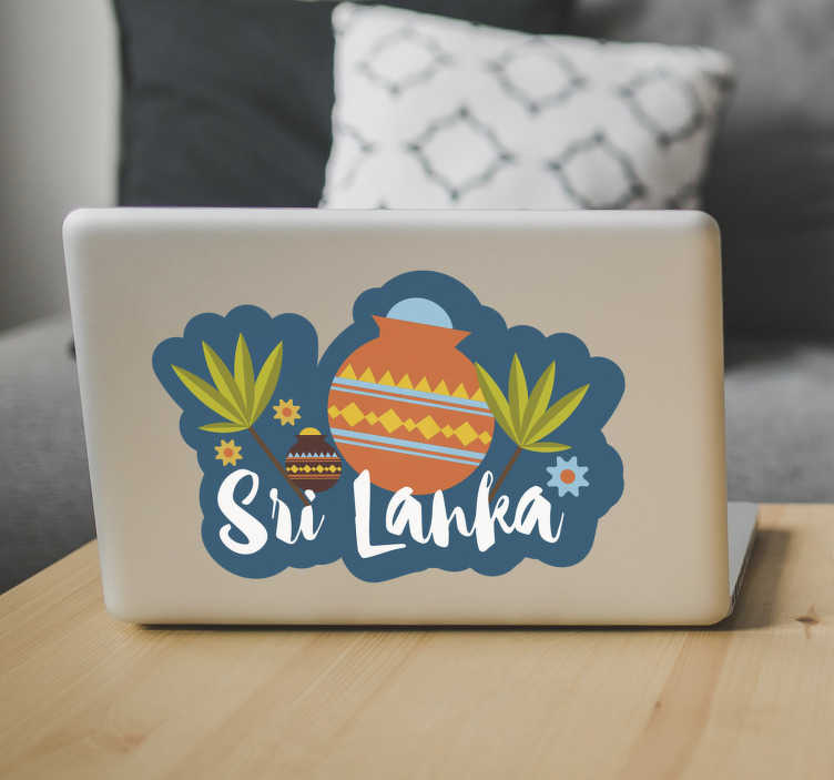 TenStickers. Sri Lanka Cartoon Drawing Sticker. Turn any laptop or gadget into a work of art with this amazing Sri Lanka cartoon laptop sticker. Free worldwide delivery available!
