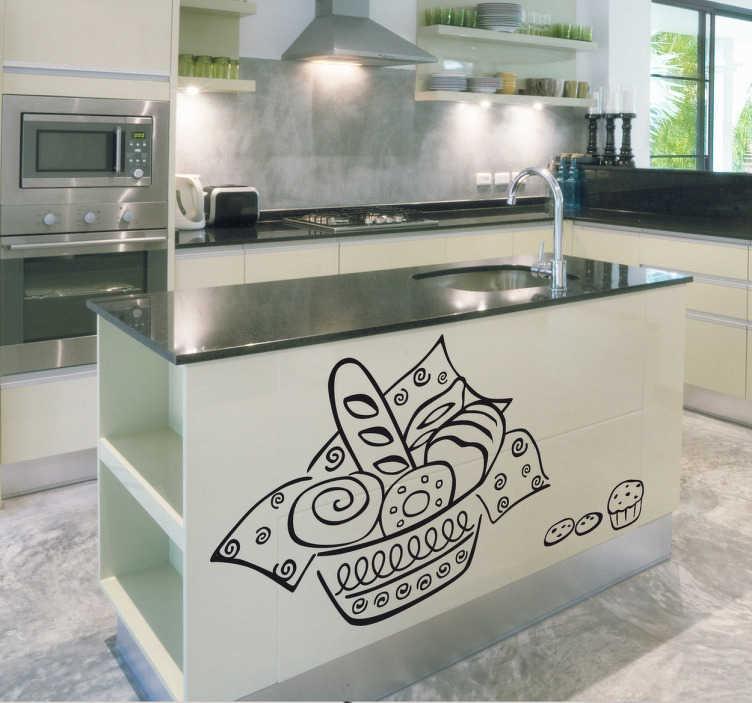 Sticker cuisine illustration pâtisserie