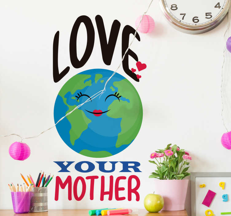 TenStickers. Climate Change Earth Wall Sticker. Show off to the world just how much you love the planet that we all inhabit with this amazing climate change wall decal. Worldwide delivery!