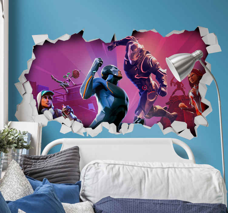 Epic Gaming Wall Stickers Tenstickers