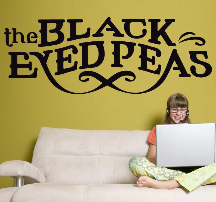 Vinilo decorativo logotipo Black Eyed Peas