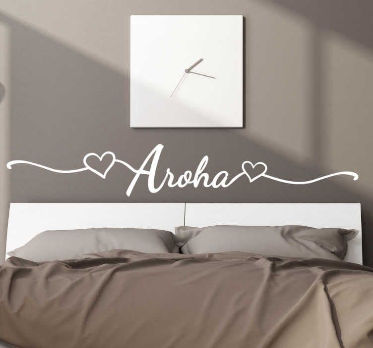 TenStickers. Sorry love wall sticker. Decorative and easy to apply home wall decal with am sorry text and hearts on it in pretty style that you can have in any colour.Suitable for bedroom.