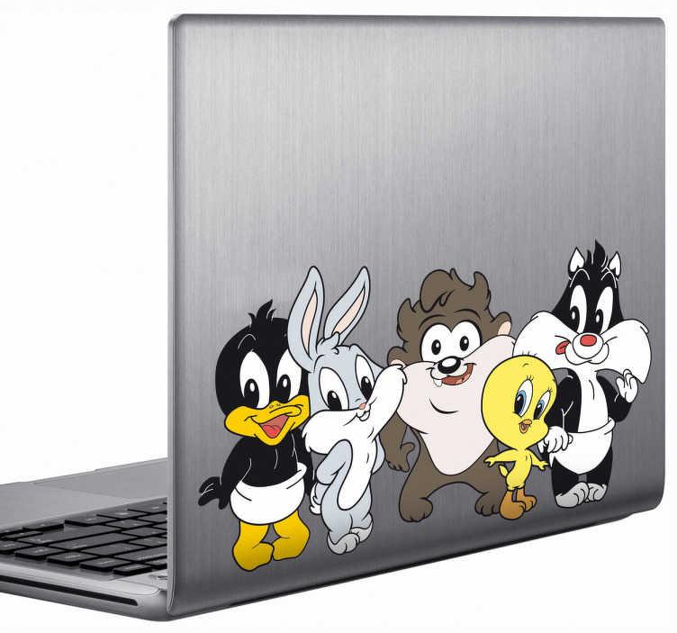 Sticker Baby Looney Tunes ordinateur portable