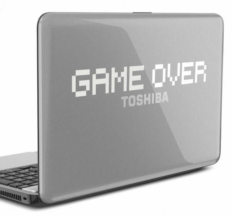 TenStickers. 在笔记本电脑贴纸游戏. 游戏玩家的笔记本电脑贴纸游戏!一个经典的游戏贴纸来装饰你的笔记本电脑。你在找贴纸让每个人都知道你是一个真正的游戏玩家吗?那么这个复古贴纸非常适合你!选择最适合您的笔记本电脑的颜色,并给它一个原始的触感。