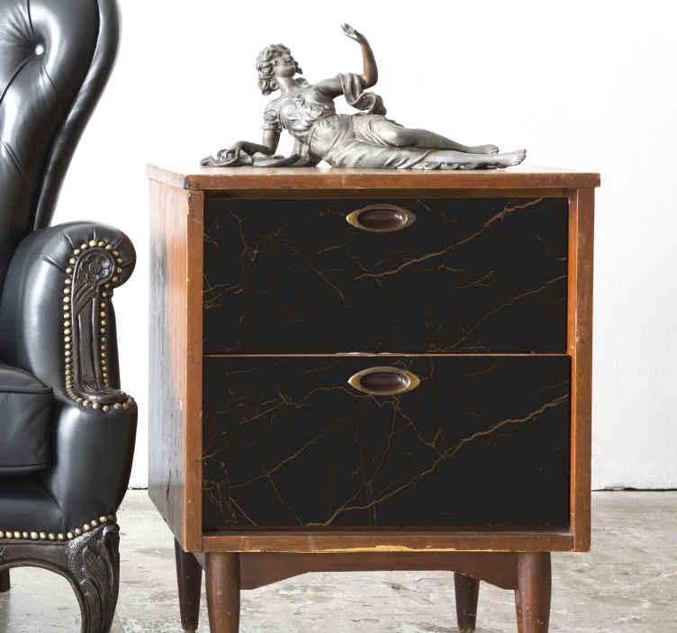 TenVinilo. Vinilo mueble textura de mármol marrón. ¡Vinilo mueble textura de mármol marrón que transformará tus muebles en una maravillosa decoración! Sin manchas al retirarlo ¡Envío a domicilio!