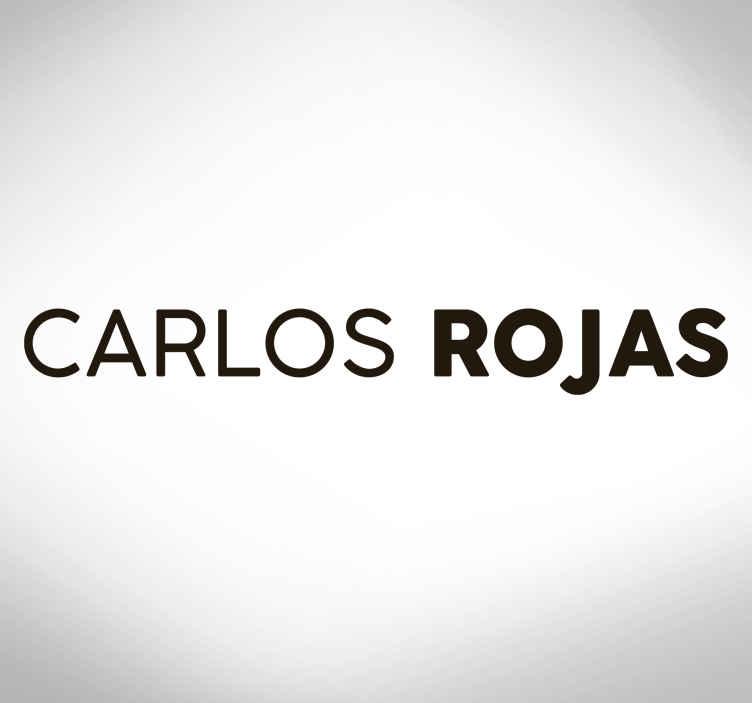 TenStickers. Fahrrad Sticker Anpassbarer Name. Personalisieren Sie jeden Namen in unserem originalen dekorativen Fahrrad Aufkleber aus hochwertigem Vinyl. Es ist in jeder gewünschten Größe erhältlich.