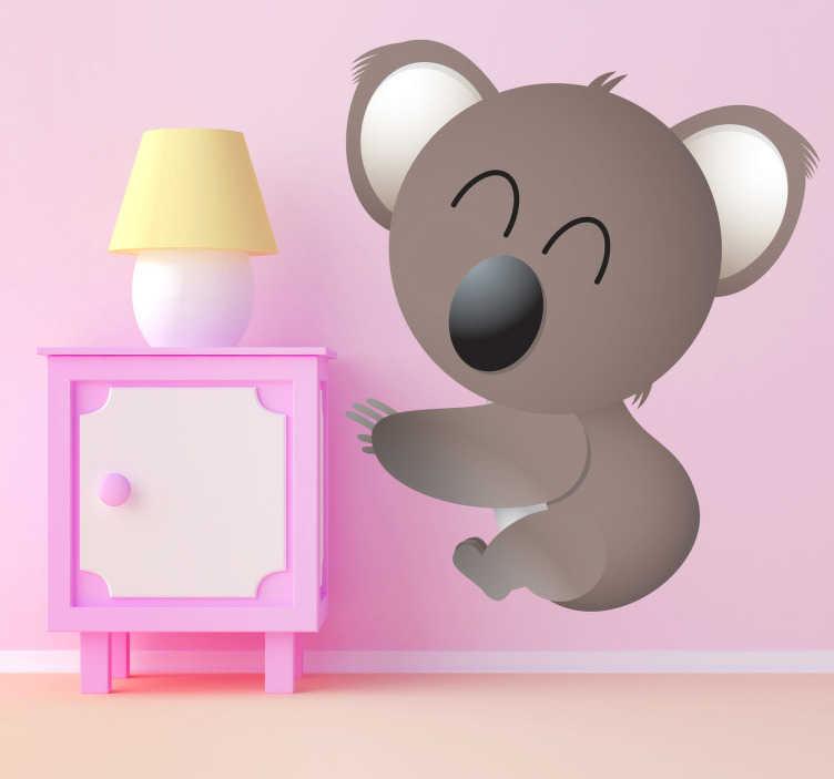 Sticker dessin petit koala