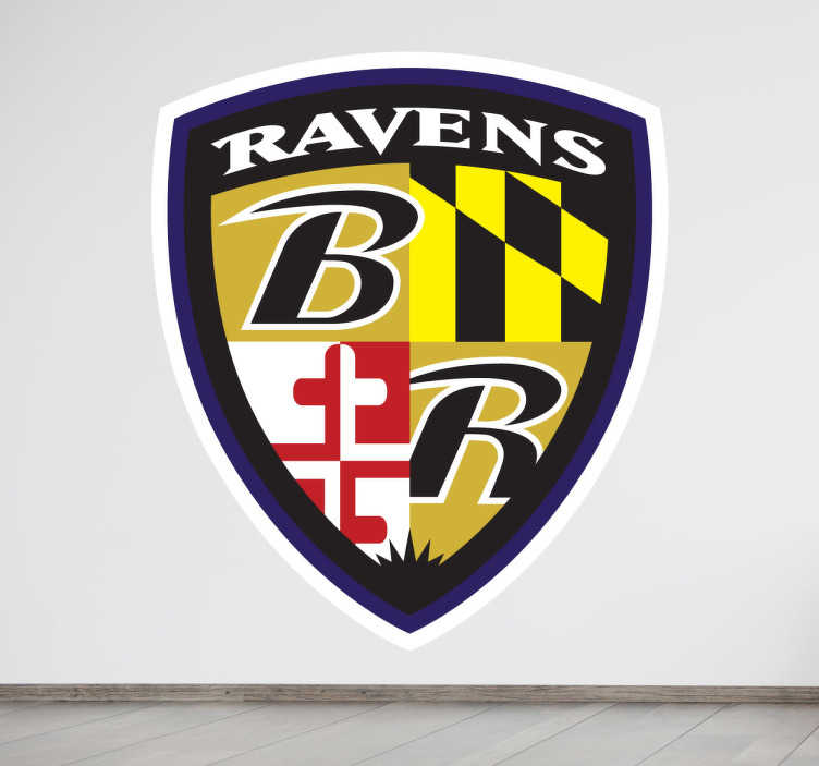 Sticker logo Baltimore Ravens
