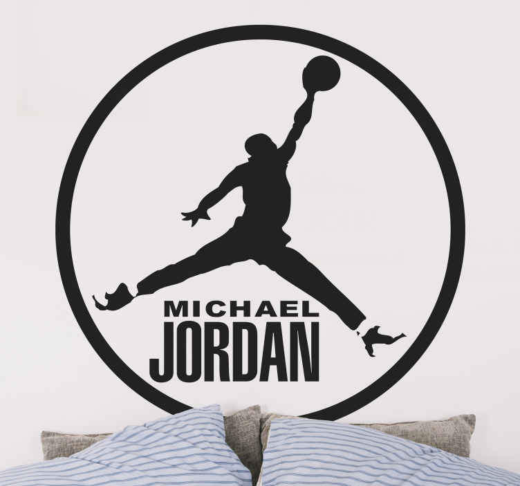 Sticker Michael Jordan