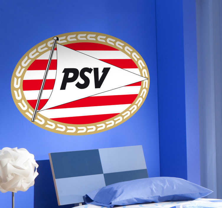 Sticker logo PSV Eindhoven