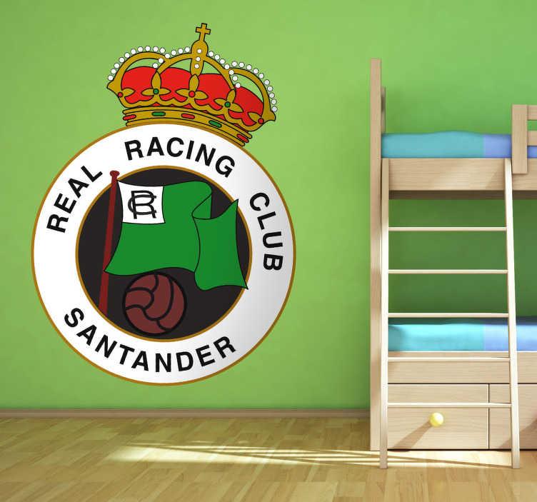 Vinilo decorativo Racing Santander