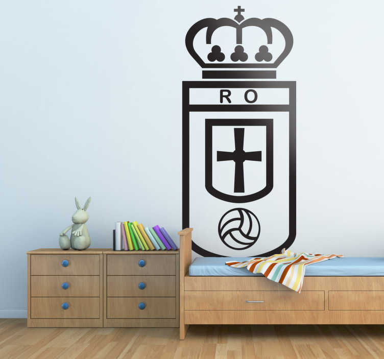 Vinilo decorativo Real Oviedo