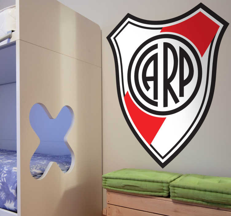 Sticker decorativo scudo River Plate