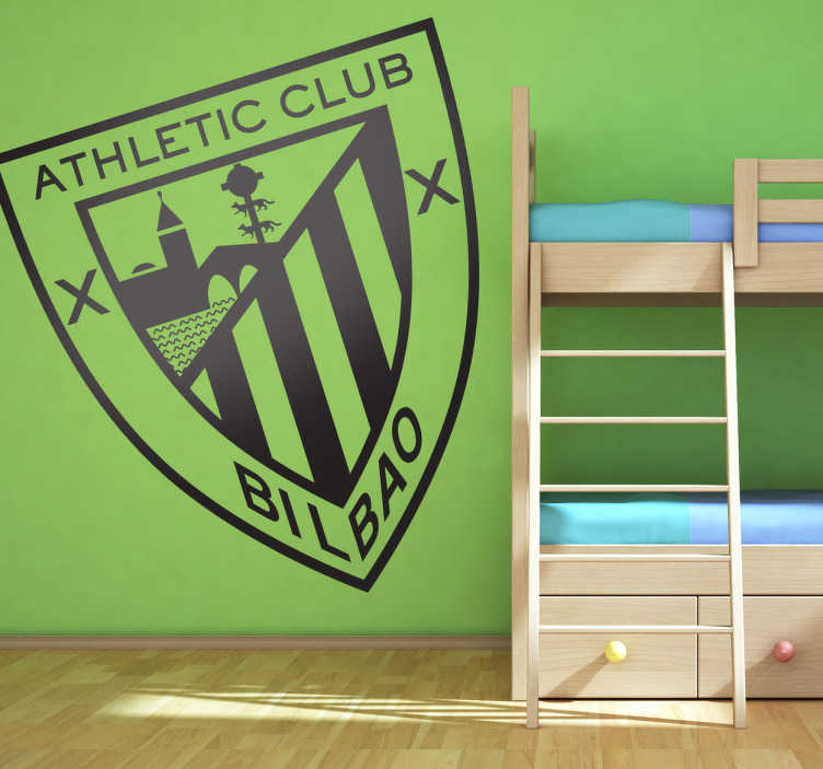 Vinilo decorativo athletic bilbao corte tenvinilo - Vinilos decorativos bilbao ...