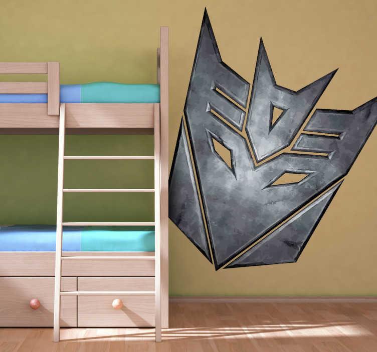 Sticker Decepticons metal