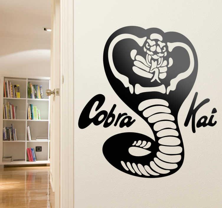 Vinilo decorativo Cobra Kai