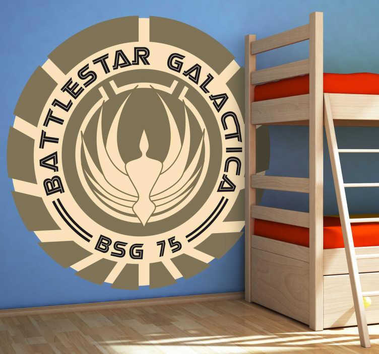 Sticker logo Battlestar Galactica
