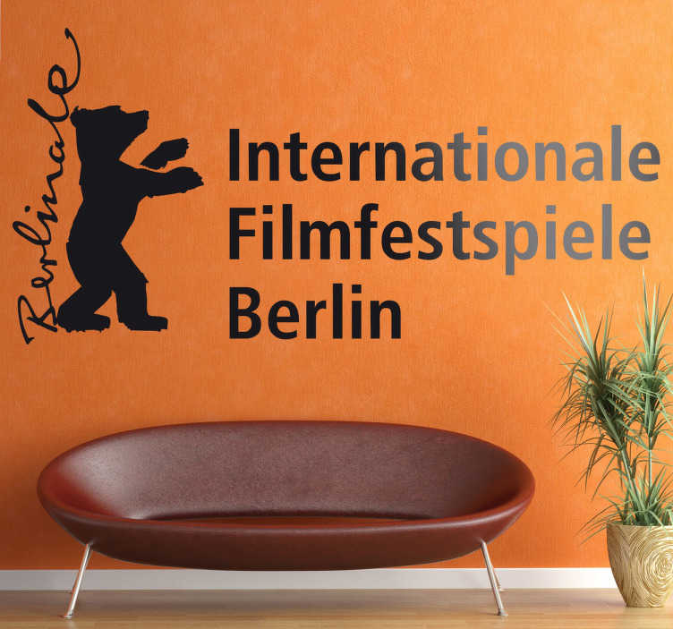 Sticker decorativo logo Berlinale