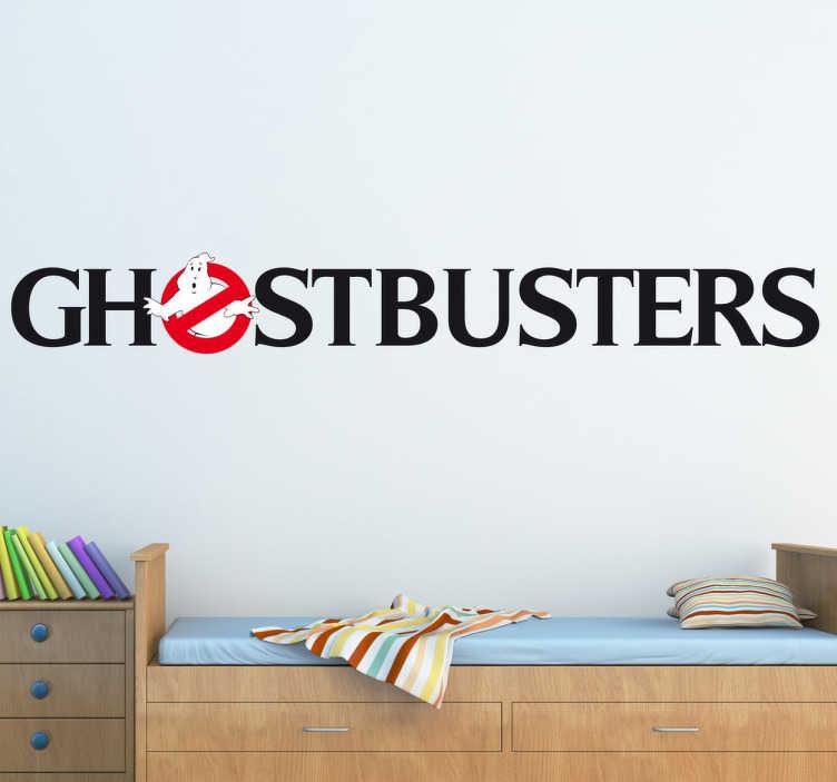TenStickers. Ghostbusters Logo Aufkleber. Sind Sie ein Fan von Ghostbusters aus den 80er Jahren? Dann ist dieses Wandtattoo die ideale Wandgestaltung für Ihr Zuhause!