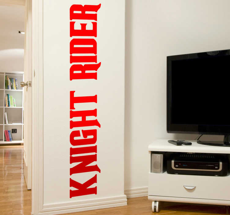 Sticker décoratif Knight Rider