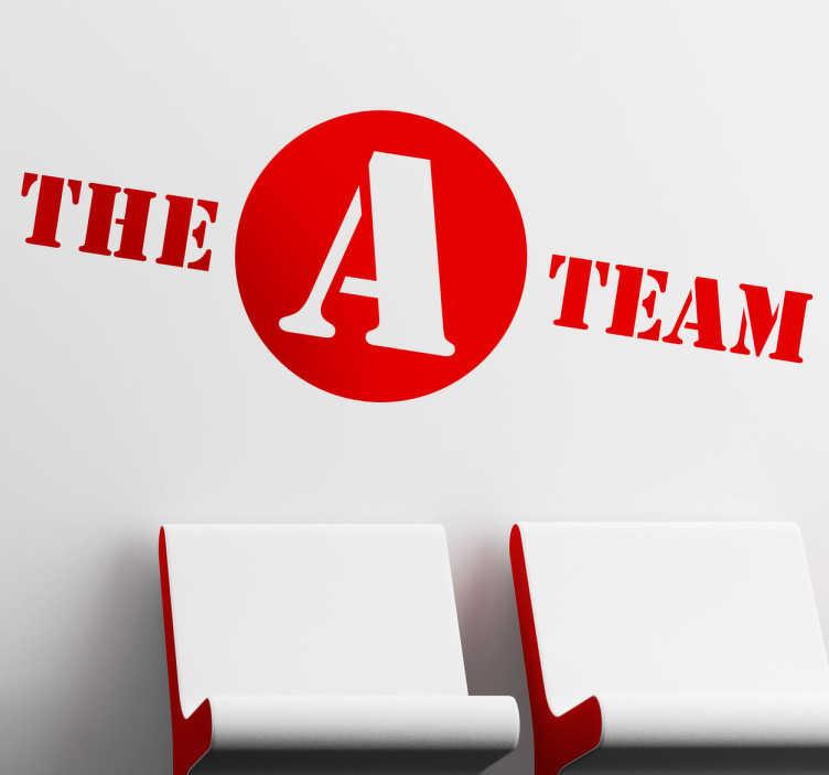 Sticker decorativo logo A Team