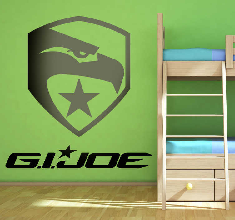 Vinilo decorativo logotipo GI joe