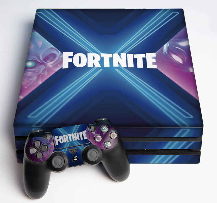 TenStickers. Fortnite Battle Royal ps4 sticker. A beautiful theme background ps4 decalfortnite battle royal. A design for people who enjoy to keep it simple. Easy to apply and of high quality.