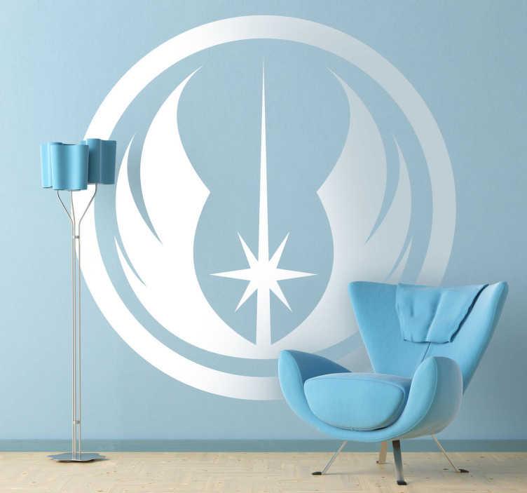 Muursticker Jedi Star Wars