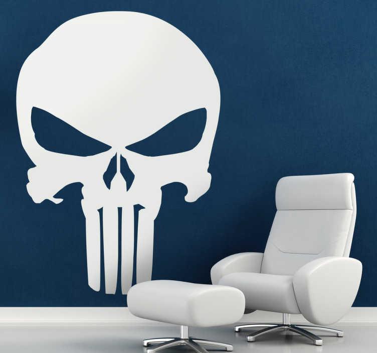 Naklejka dekoracyjna logo the Punisher