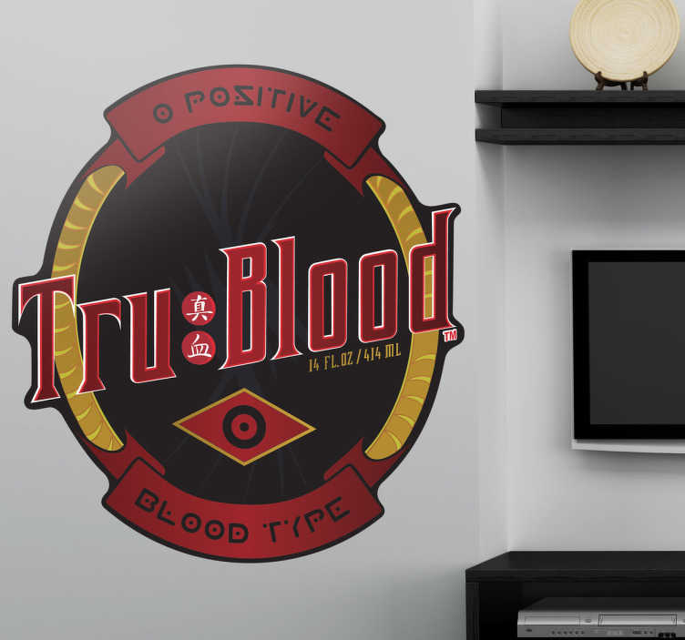 Sticker logo True Blood