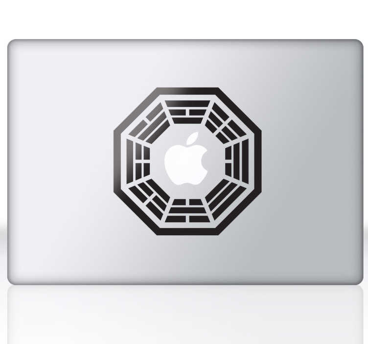 Sticker Dharma Lost pour Apple