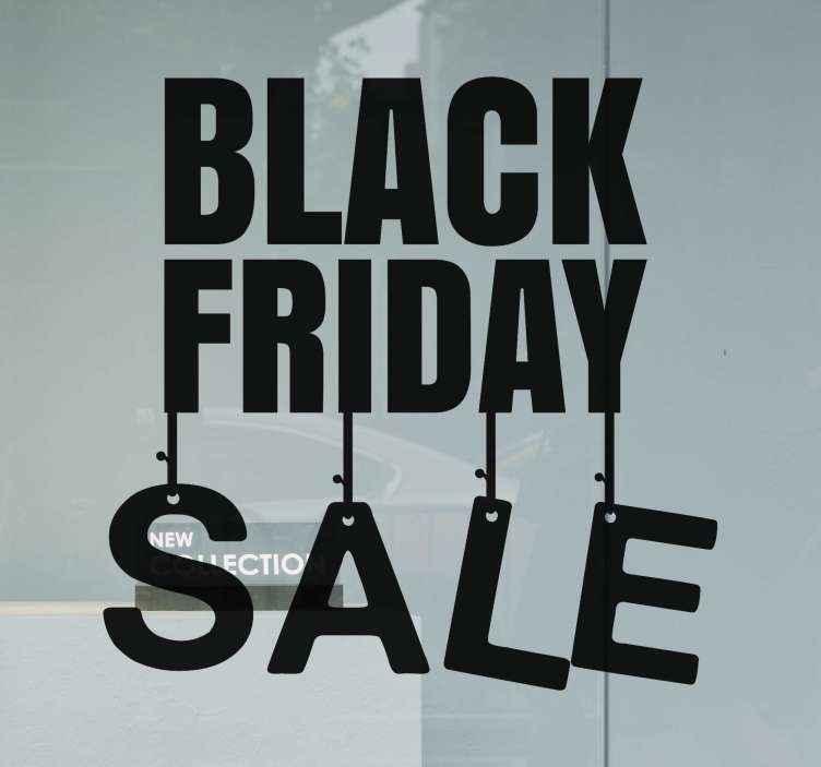 TENSTICKERS. ブラックフライデーセールウィンドウデカール. ブラックフライデーの販売のためのビジネスウィンドウステッカー。 。ブラックフライデーセールのショーウィンドウステッカーで認知度を高め、売り上げを伸ばしましょう。
