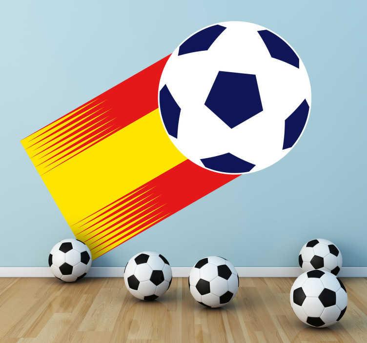 TenVinilo. Vinilo decorativo España 82. Adhesivo del logotipo oficial del mundial realizado en los años ochenta. Un recuerdo para los más nostálgicos.