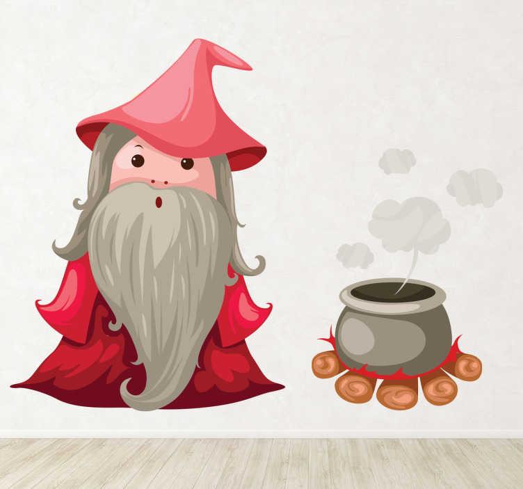 Naklejka dla dzieci czarodziej