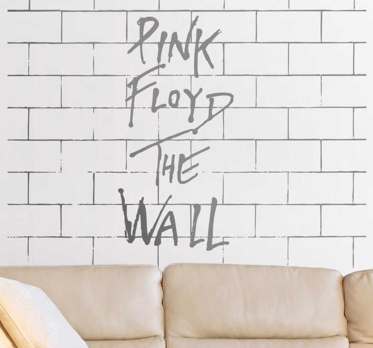 Sticker mural Pink Floyd The Wall