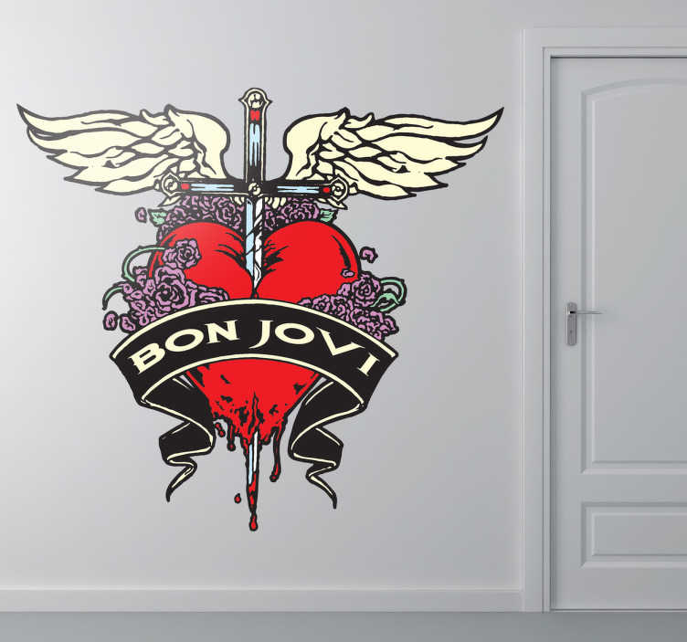 Sticker decorativo Bon Jovi