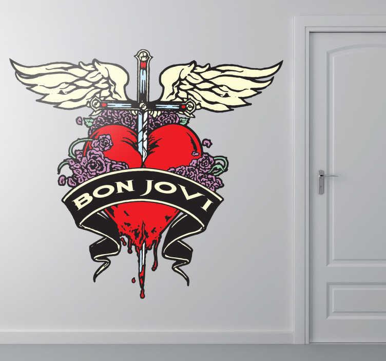 Sticker muziek Bon Jovi