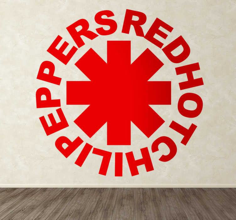 Sticker decorativo Red Hot Chili Peppers