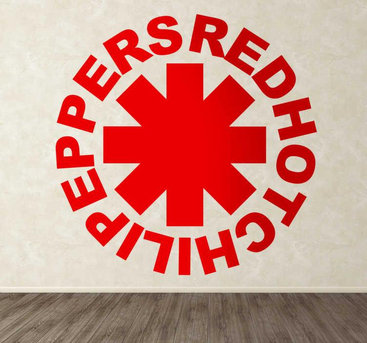 Naklejka na ścianę Red Hot Chili Peppers
