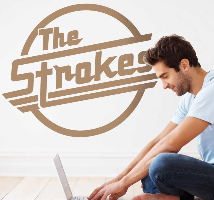 Sticker The Strokes