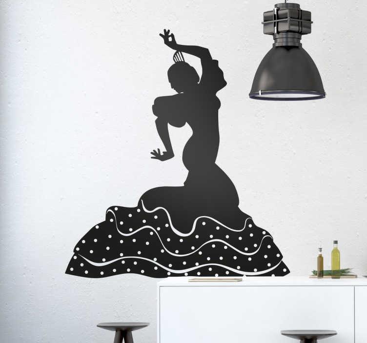 Wandtattoo spanische dekoration tenstickers - Spanische dekoration ...
