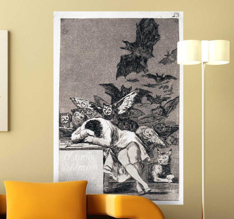Naklejka dekoracyjna obraz Goya